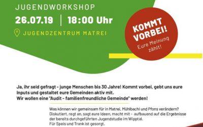 Come together + Create your future -> Jugendworkshop