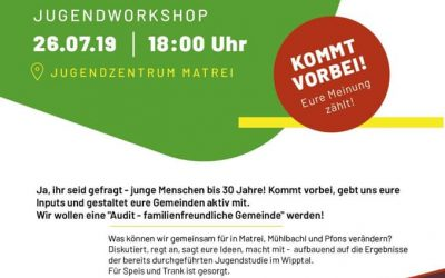 Come together + Create your future -> Jugendworkshop