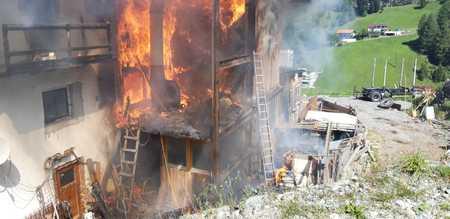 """Spendenaufruf Brandkatastrophe """"Pfrundsteinhof"""""""
